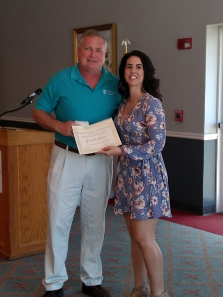 April 2017 Class - Highest GPA Scanning Award