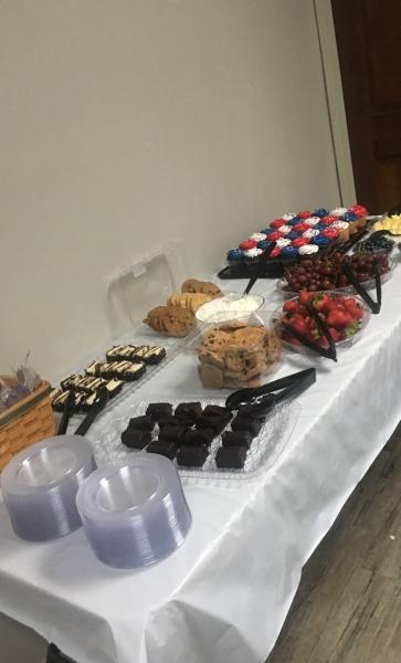 Dessert April 2019 Class
